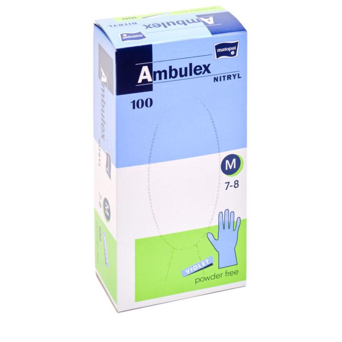 chirurgické rukavice AMBULEX, nepudrované